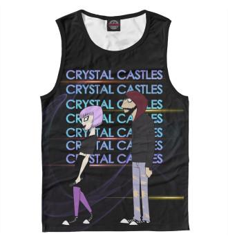 Мужская Майка Crystal Castles