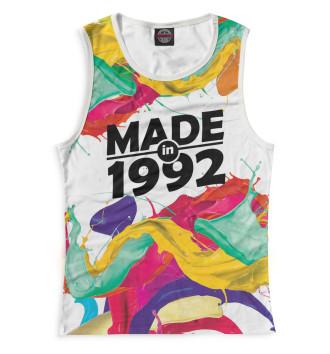 Женская Майка Made in 1992