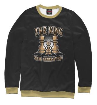 Женский Свитшот The King