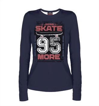 Женский Лонгслив Japan skate 95