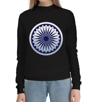 Женский Хлопковый свитшот Индия
