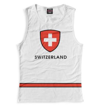 Женская Майка Сборная Швейцарии