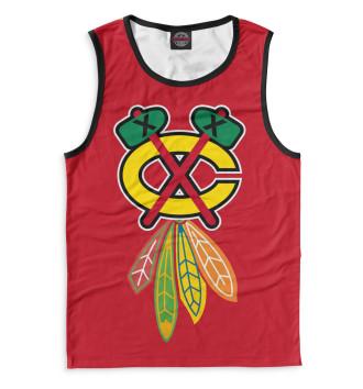 Мужская Майка Chicago Blackhawks