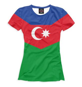 Женская Футболка Азербайджан