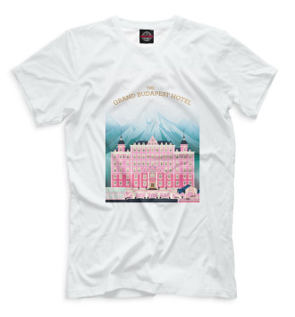 Мужская Футболка The Grand Budapest Hotel