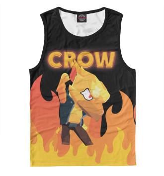 Майка для мальчиков Brawl Stars Crow