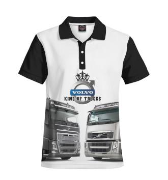 Мужское Поло VOLVO - король грузовиков