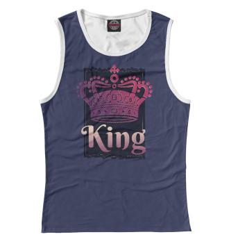 Женская Майка Dark King