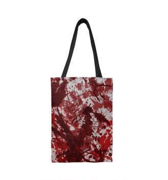 Сумка-шоппер Кровь
