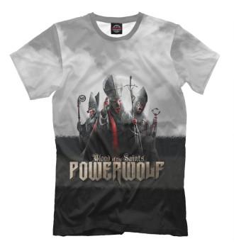 Мужская Футболка Powerwolf - Blood Of The Saints