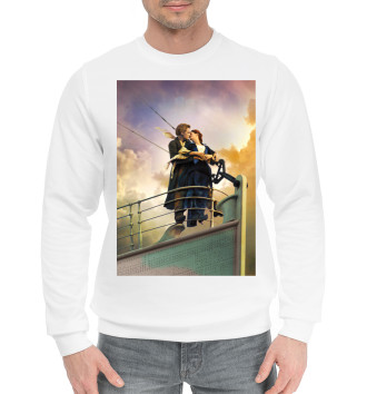 Мужской Хлопковый свитшот Титаник
