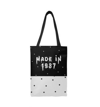 Сумка-шоппер Год рождения 1987