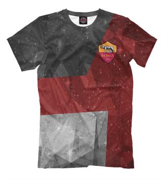 Мужская Футболка FC Roma