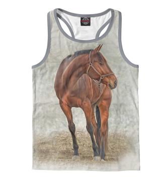 Мужская Борцовка Лошадь