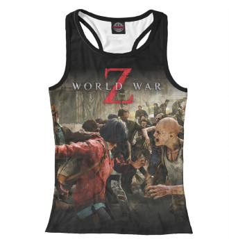 Женская Борцовка World War Z