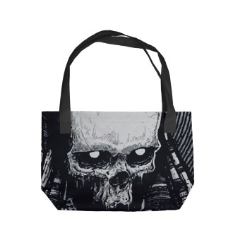 Пляжная сумка Череп