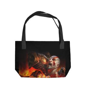 Пляжная сумка God of War 3