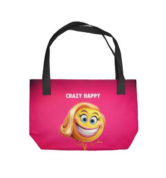 Пляжная сумка Crazy Happy