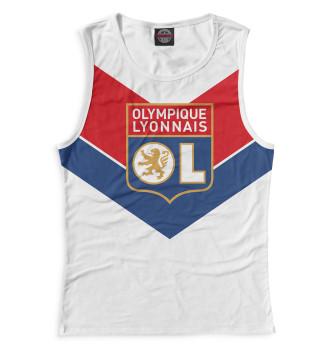 Женская Майка Olympique lyonnais