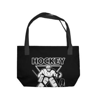 Пляжная сумка Чемпионат по хоккею