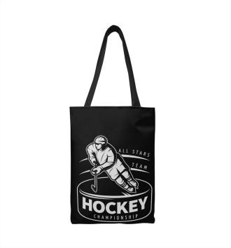 Сумка-шоппер Хоккеист