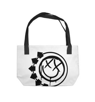 Пляжная сумка Blink-182
