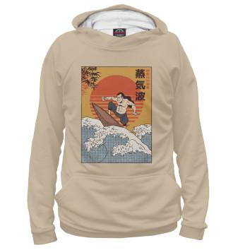 Женское Худи Samurai Surfing