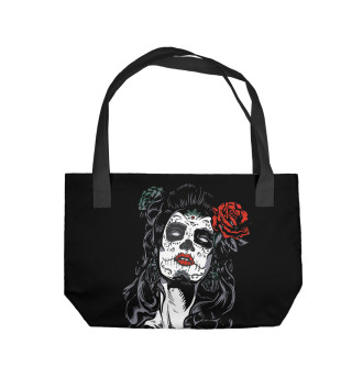Пляжная сумка Santa Muerte