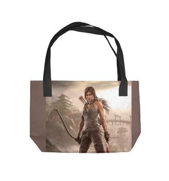 Пляжная сумка Tomb Raider