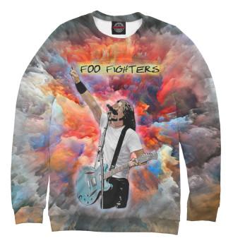 Мужской Свитшот Foo Fighters - Dave Grohl (Painty)