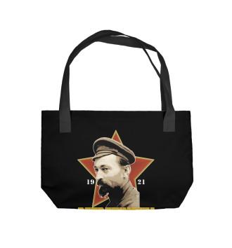 Пляжная сумка Высшая школа КГБ им. Дзержинского