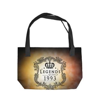 Пляжная сумка Born in 1993