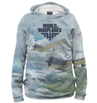 Женское Худи World of Warplanes