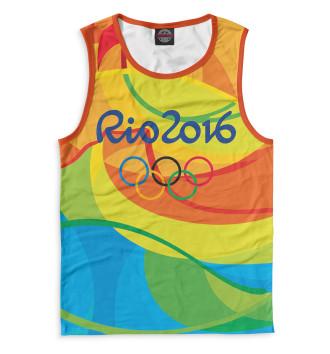 Мужская Майка Олимпиада Рио-2016