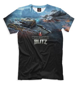 Мужская Футболка World of Tanks Blitz