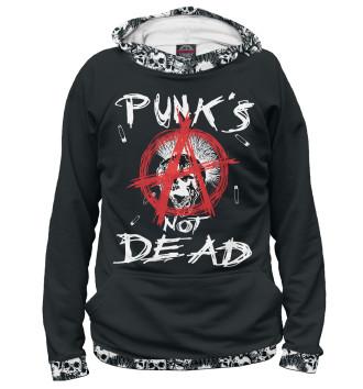 Женское Худи Punk's Not Dead