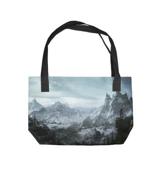Пляжная сумка Skyrim