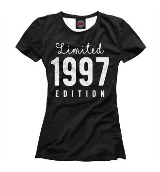 Женская Футболка 1997 - Limited Edition