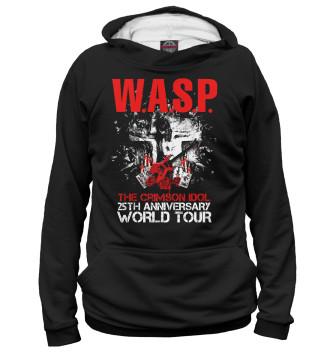 Мужское Худи W.A.S.P. тур 2017