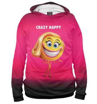 Женское Худи Crazy Happy