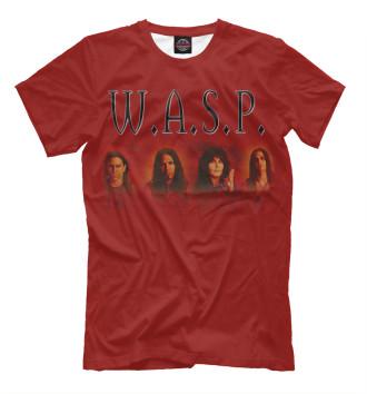 Мужская Футболка W.A.S.P. band