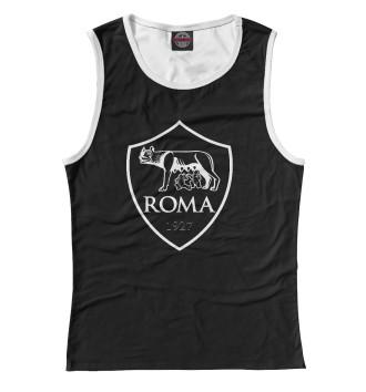 Женская Майка FC ROMA Black&White