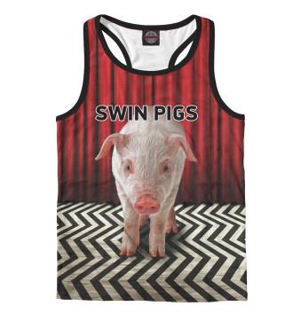 Мужская Борцовка Swin Pigs