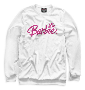Женский Свитшот Надпись Barbie