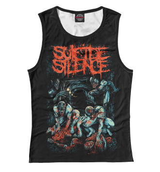 Женская Майка Suicide Silence