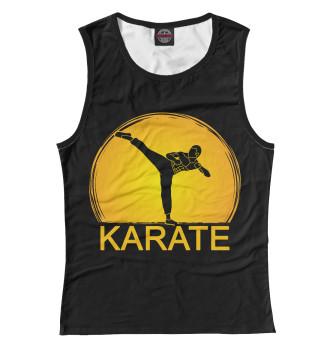Женская Майка Karate