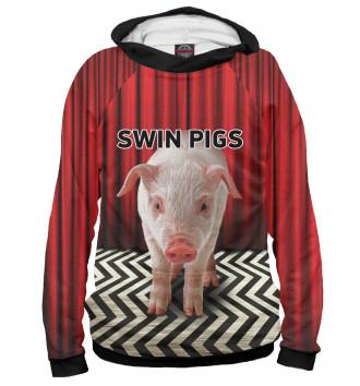 Женское Худи Swin Pigs