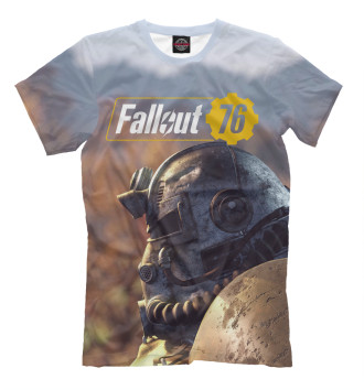Мужская Футболка Fallout 76