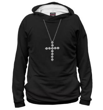 Женское Худи Бриллиантовый крест