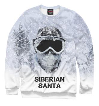 Женский Свитшот Сибирский Санта